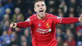 Liverpools Jordan Henderson traf zum 3:1-Schlussresultat