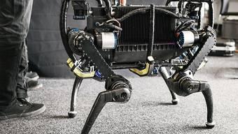 Roboter werden künftig immer komplexere Arbeiten übernehmen. Roboterforscher Jürgen Schmidhuber fordert daher ein bedingungslosen Grundeinkommen für alle. (Symbolbild)