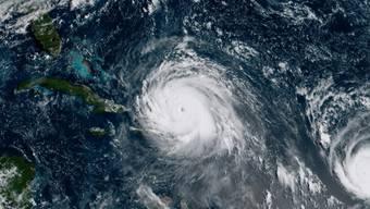"Der Hurrikan ""Irma"" nimmt Kurs auf Florida"