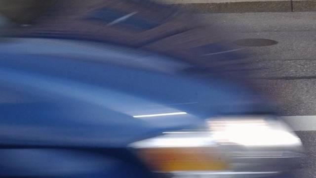 Raser mit Tempo 216 erwischt (Symbolbild)