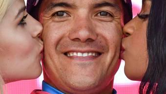 Richard Carapaz kam dem Gesamtsieg im Giro d'Italia einen weiteren Schritt näher