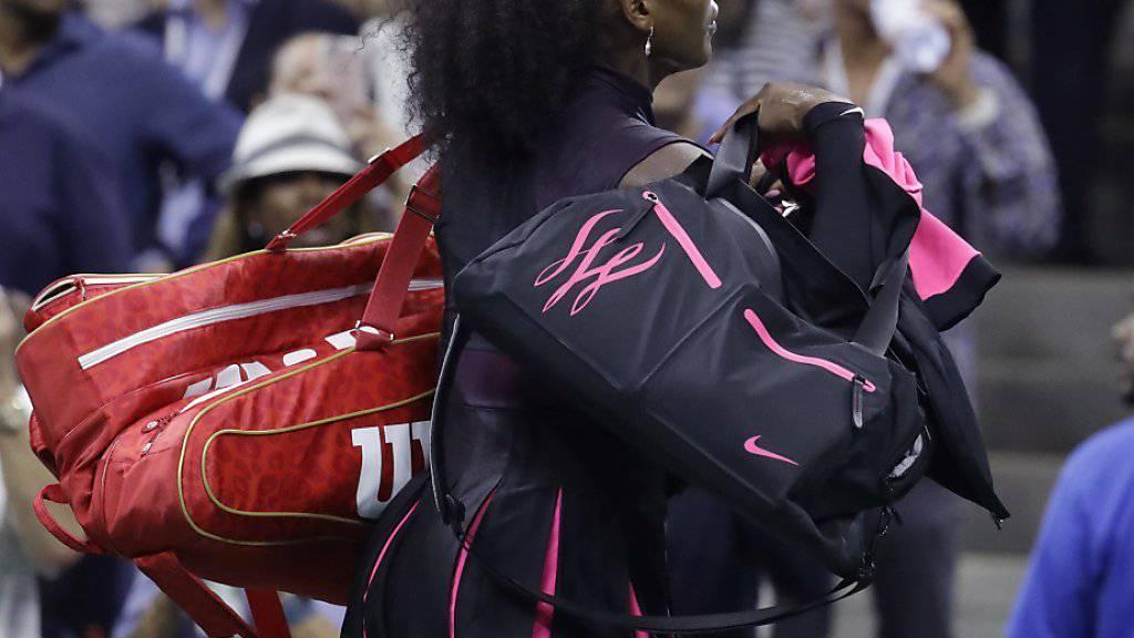 Serena Williams legt eine Pause ein