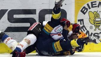 Biels Ahren Spylo prügelt sich mit Klotens Marc Welti