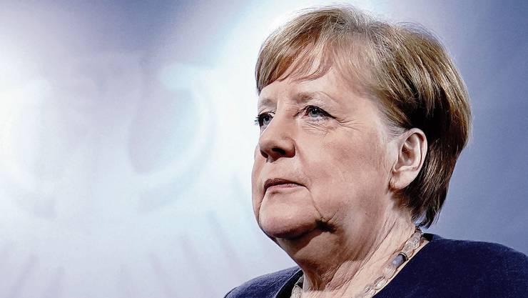Plötzlich auf dem Höhepunkt ihrer Macht: Bundeskanzlerin Angela Merkel.