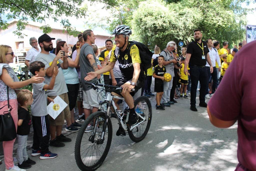 BVB trainiert zum neunten Mal in Bad Ragaz (© FM1Today/Noémie Bont)
