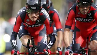 Das amerikanisch-schweizerische Team BMC gewinnt das Mannschafts-Zeitfahren zum Auftakt der 70. Spanien-Rundfahrt