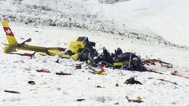 Tödliches Helikopter-Unglück in Lauterbrunnen