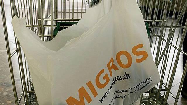 Dreistufiges Sortiment bei Migros