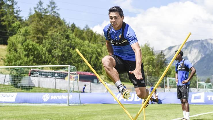 «Ich kann zum ersten Mal seit meiner Ankunft beim FCB vollen Einsatz geben», sagt Blas Riveros. Zuvor war der Kopf dazu nicht frei genug.
