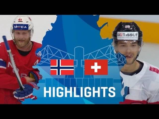 Norway - Switzerland | Highlights | #IIHFWorlds 2017