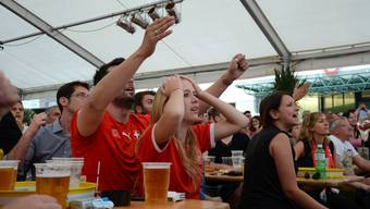 Spannung pur – Public Viewing in Dietikon und Urdorf beim Match Schweiz – Argentinien