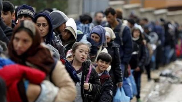 71 Millionen sind auf der Flucht. So viel waren es selten. Hier ziehen Flüchtlingsströme durch Slowenien.