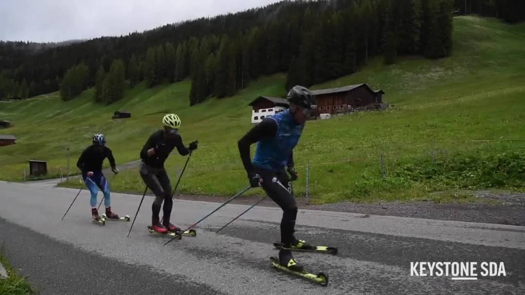 Dario Cologna kann sich auch Rennen ohne Zuschauer vorstellen