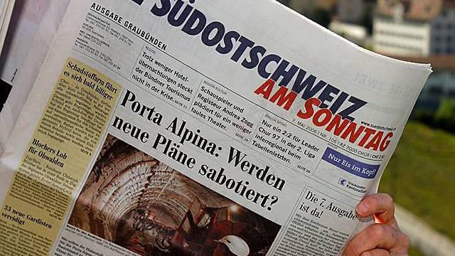 Südostschweiz-Medien gehören zu news1.ch