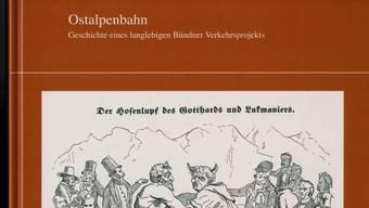Das neue Buch von Luzi C. Schutz zur Ostalpenbahn.