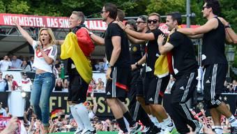 Berlin feiert seine Fussball-Helden