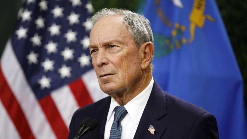 New Yorks Ex-Bürgermeister Bloomberg will US-Präsident werden