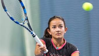 Die Kappelerin Tamara Arnold ist die Nummer zwei der Setzliste in der Königskategorie U18.