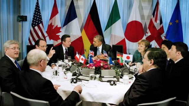 G7-Treffen in Den Haag von Ende März (Archiv)