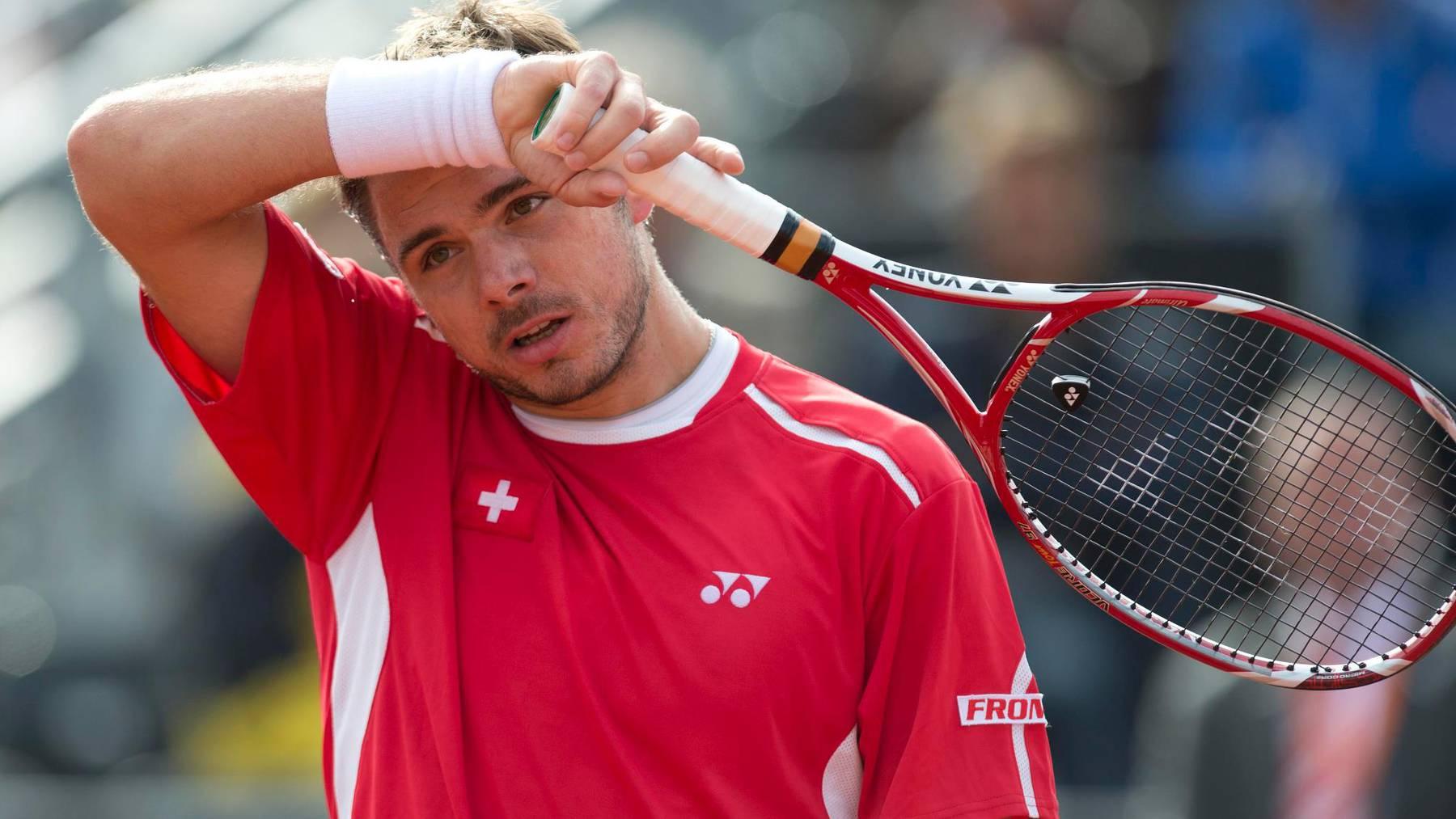 Stan Wawrinka im Halbfinal von St. Petersburg