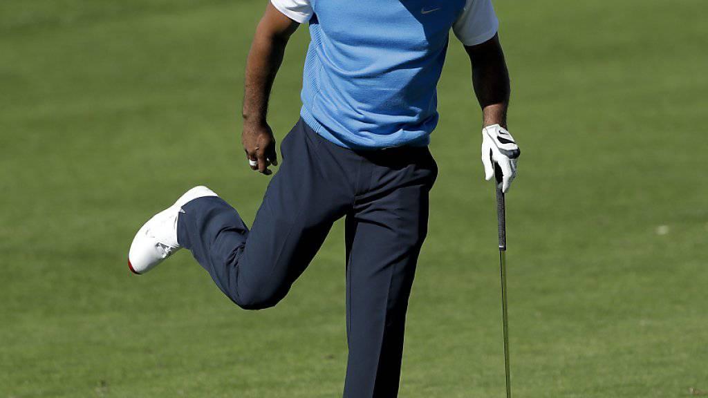 Beim Comeback auf der PGA-Tour alles andere als überzeugend: Tiger Woods