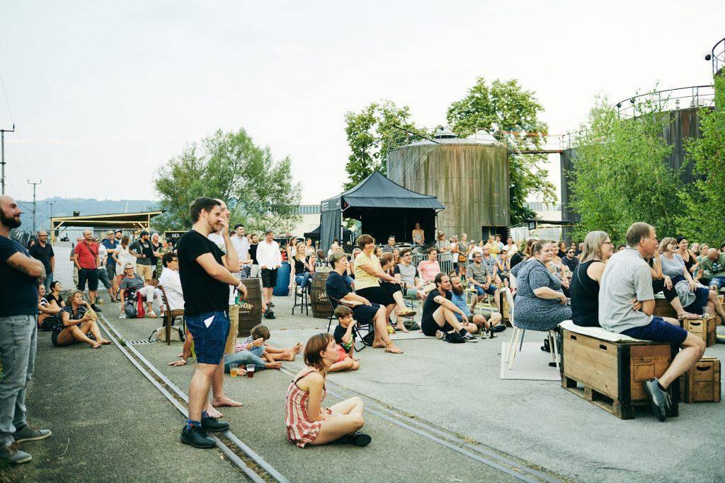 Vier Tage Party auf dem ehemaligen Heizwerk der Firma Saurer. (© Heizwerk Festival)