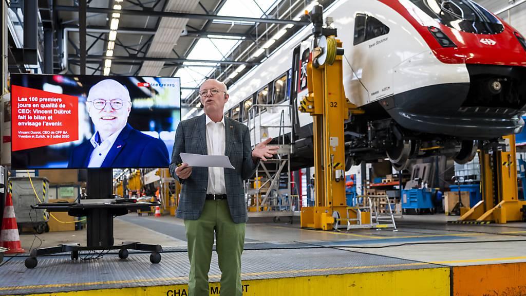 Neuer SBB-Chef Vincent Ducrot: «Die Lage ist sehr ernst»
