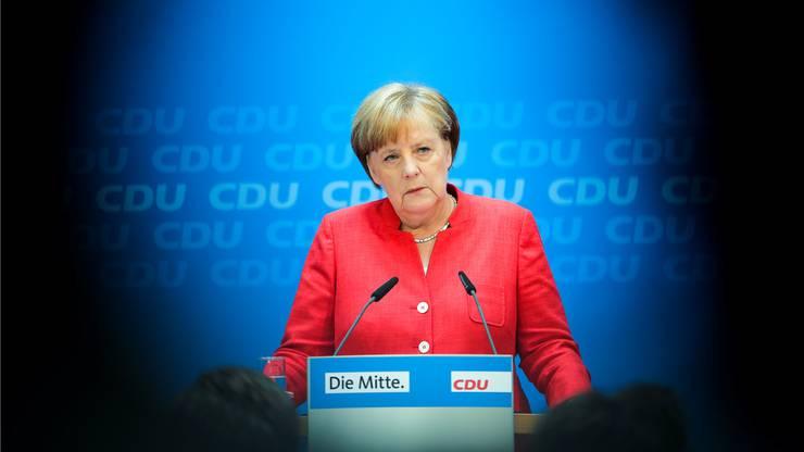 Unter Zugzwang: Kanzlerin Angela Merkel (CDU).