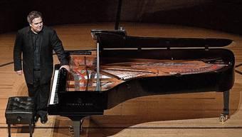Der russische Pianist Arcadi Volodos bei einem Auftritt am Lucerne Festival.