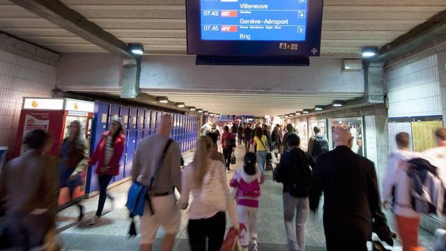 Die Bauarbeiten am Bahnhof Lausanne haben auch in der Nordwestschweiz Konsequenzen. (Symbolbild)
