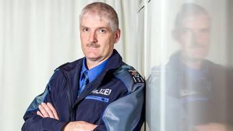 Thomas Zbinden ist seit 1997 Polizist in Suhr; erst als Chef der Gemeindepolizei, ab 2003 als Chef der Repol.