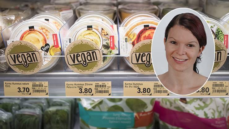 Die Ernährungsberaterin Petra Martel baut nicht auf Veganismus.
