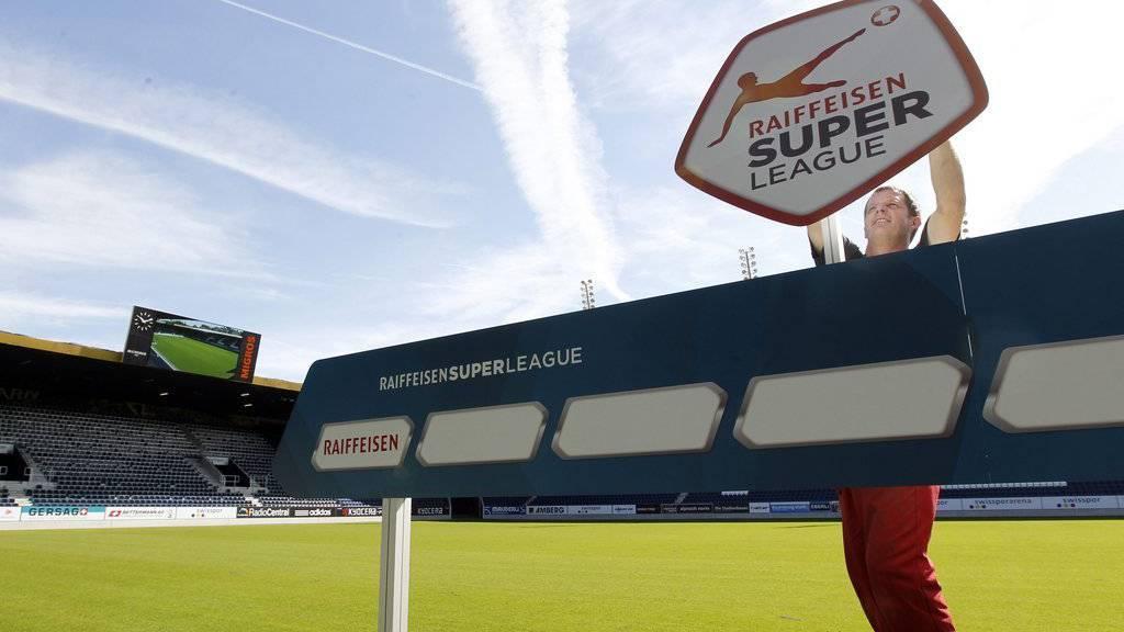 Die Raiffeisen Super League ist bald auf der Insel zu sehen.