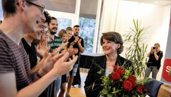Kathrin Schweizer wird als Regierungskandidatin nominiert