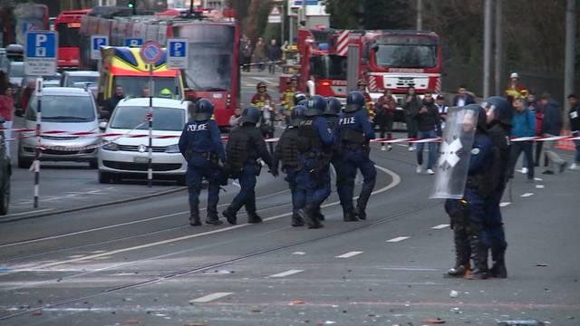 Jeder 5. Stadtpolizist war schon wegen Einsätzen im Spital