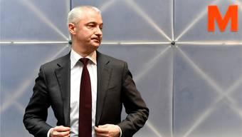Will die Migros fit trimmen: Fabrice Zumbrunnen (48).Walter Bieri/Keystone