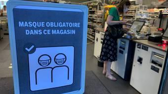 Im Kanton Waadt gilt bereits eine Maskenpflicht in den Läden.