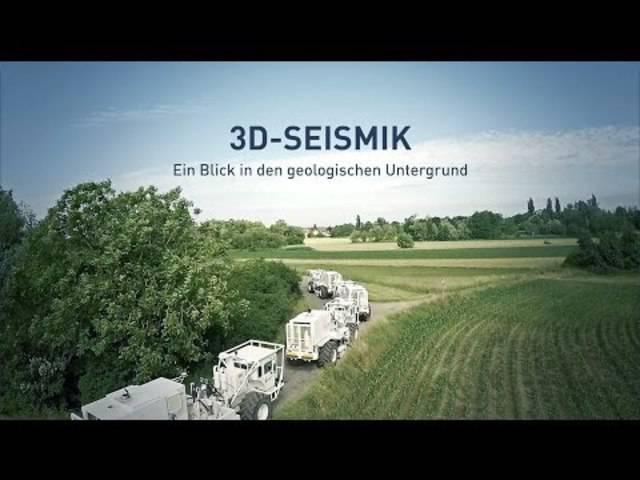 3D-Seismik – Ein Blick in den geologischen Untergrund