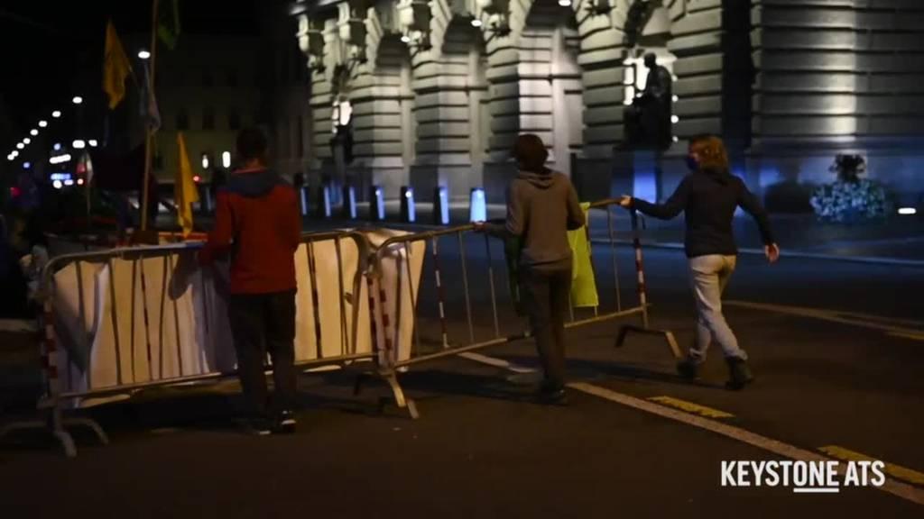 Gerangel um Protestcamp vor dem Bundeshaus geht weiter