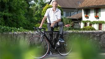 Jean-Claude Leclercq gewann unter anderem 1987 den Klassiker Flèche Wallonne. Heute fährt er noch immer gerne Rad, einfach spasseshalber.