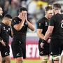 Die Enttäuschung nach der Halbfinalniederlage war bei den «All Blacks» riesig.