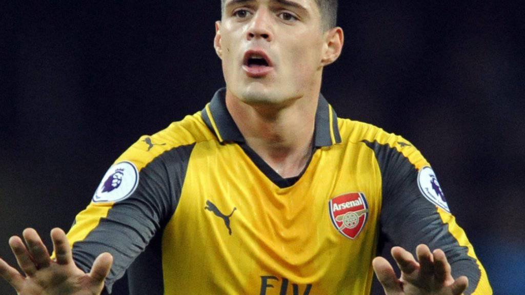 Granit Xhaka hat sich bei Arsenal eingelebt