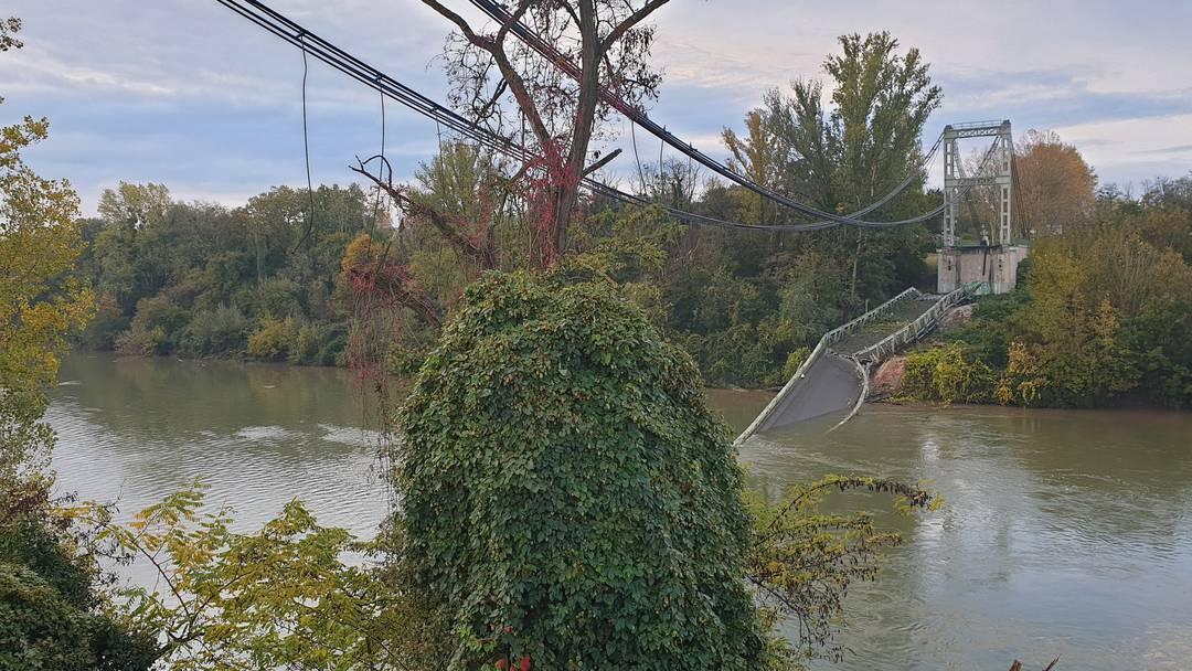 Brückeneinsturz fordert ein Todesopfer und mehrere Verletzte
