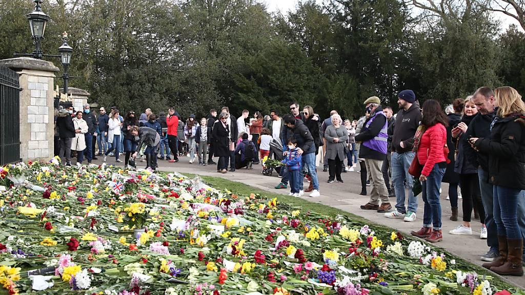 BBC erhält Beschwerden über «zu viele» Berichte zu Prinz Philips Tod