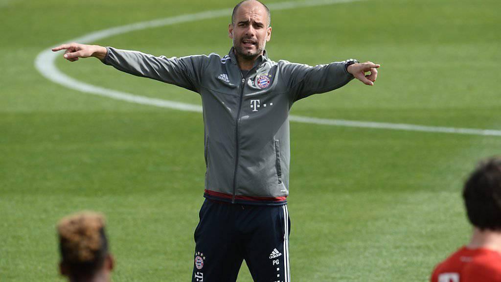 Pep Guardiola verhandelte offenbar in Paris mit der Führung von Manchester United