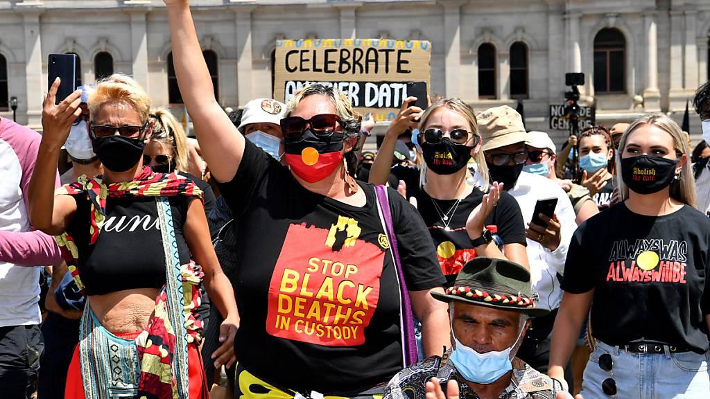 Tausende demonstrieren gegen «Australia Day»