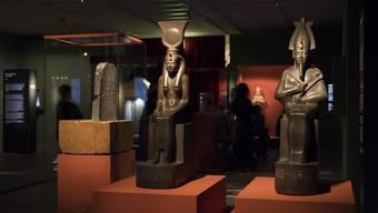 Impressionen aus der Ausstellung «Osiris» im Museum Rietberg