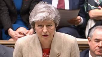 Theresa May will in Brüssel einen neuen Aufschub verlangen.