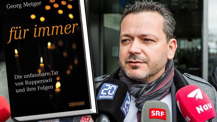 Georg Metger, der Partner der getöteten Carla S., hat ein Buch über die Tat von Rupperswil geschrieben.