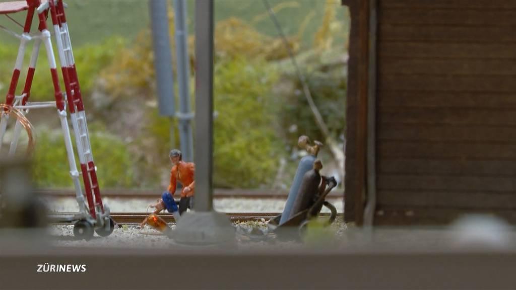 Modeleisenbahn im eigenen Keller